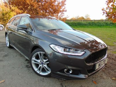 Ford Mondeo 2.0 TDCi 180 Titanium 5dr (LED Headlights! Pan Roof! +++) Estate Diesel Magnetic Grey MetallicFord Mondeo 2.0 TDCi 180 Titanium 5dr (LED Headlights! Pan Roof! +++) Estate Diesel Magnetic Grey Metallic at Williams Group Maidstone