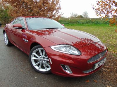 Jaguar XK 5.0 V8 Portfolio 2dr Auto (Full Jag SH! Adaptive Lights! ++) Coupe Petrol Claret Red MetallicJaguar XK 5.0 V8 Portfolio 2dr Auto (Full Jag SH! Adaptive Lights! ++) Coupe Petrol Claret Red Metallic at Williams Group Maidstone