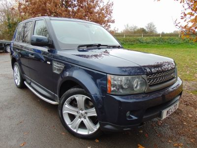 Land Rover Range Rover Sport 3.0 TD V6 HSE 5dr (Adaptive Cruise! Heated S/Wheel! ++) Estate Diesel Baltic Blue MetallicLand Rover Range Rover Sport 3.0 TD V6 HSE 5dr (Adaptive Cruise! Heated S/Wheel! ++) Estate Diesel Baltic Blue Metallic at Williams Group Maidstone
