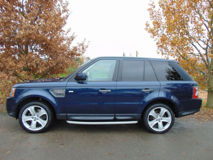 Land Rover Range Rover Sport 3.0 TD V6 HSE 5dr (Adaptive Cruise! Heated S/Wheel! ++) Estate Diesel Baltic Blue Metallic