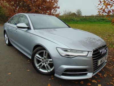 Audi A6 2.0 TDI Ultra S Line 4dr S Tronic (1 Owner! DAB! Heated Seats! ++) Saloon Diesel Floret Silver MetallicAudi A6 2.0 TDI Ultra S Line 4dr S Tronic (1 Owner! DAB! Heated Seats! ++) Saloon Diesel Floret Silver Metallic at Williams Group Maidstone