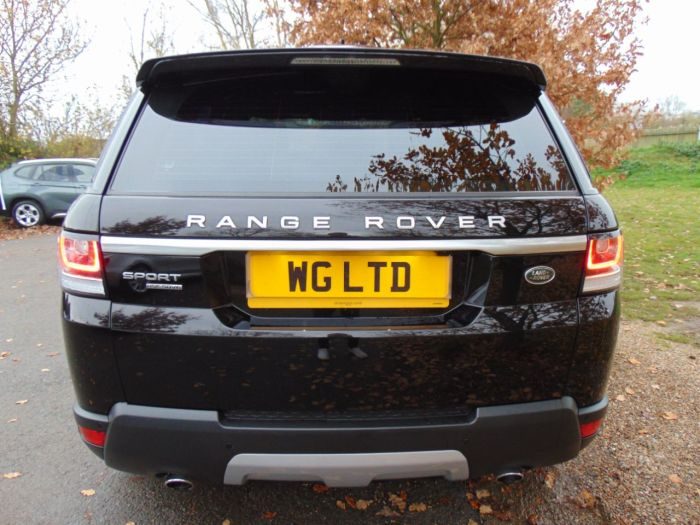 Land Rover Range Rover Sport 3.0 SDV6 HSE 5dr Auto (22in Alloys! Pan Roof! ++) Estate Diesel Barolo Black Premium Metallic