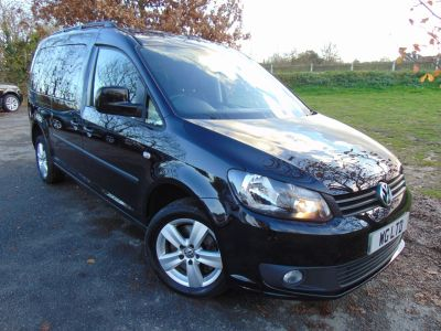 Volkswagen Caddy Maxi Life 1.6 TDI 5dr (Rear Sensors! 16in Alloys! ++) MPV Diesel Deep Black PearlVolkswagen Caddy Maxi Life 1.6 TDI 5dr (Rear Sensors! 16in Alloys! ++) MPV Diesel Deep Black Pearl at Williams Group Maidstone