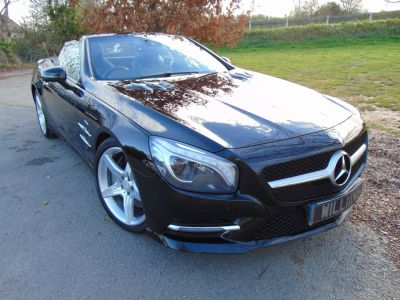Mercedes-Benz SL Class 3.0 SL 400 AMG Sport 2dr Auto (Full MB History! Air Scarf++) Convertible Petrol BlackMercedes-Benz SL Class 3.0 SL 400 AMG Sport 2dr Auto (Full MB History! Air Scarf++) Convertible Petrol Black at Williams Group Maidstone