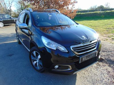 Peugeot 2008 1.6 e-HDi Allure 5dr (Visibility Pack! DAB! FSH! +++) Hatchback Diesel Nera Black MetallicPeugeot 2008 1.6 e-HDi Allure 5dr (Visibility Pack! DAB! FSH! +++) Hatchback Diesel Nera Black Metallic at Williams Group Maidstone
