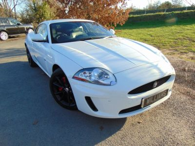 Jaguar XK 5.0 V8 2dr (FSH! Low Miles! Cooled Seats++) Coupe Petrol Polaris Gloss WhiteJaguar XK 5.0 V8 2dr (FSH! Low Miles! Cooled Seats++) Coupe Petrol Polaris Gloss White at Williams Group Maidstone
