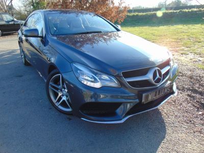 Mercedes-Benz E Class 2.1 E250 CDI AMG Sport 2dr 7G-Tronic (1 Owner! Full Merc SH! DAB! +++) Coupe Diesel Selenite Grey MetallicMercedes-Benz E Class 2.1 E250 CDI AMG Sport 2dr 7G-Tronic (1 Owner! Full Merc SH! DAB! +++) Coupe Diesel Selenite Grey Metallic at Williams Group Maidstone