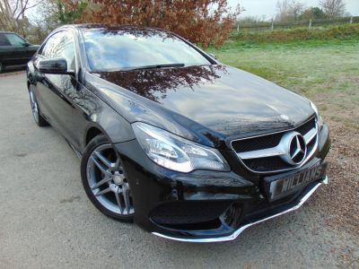 Mercedes-Benz E Class 2.1 E220 CDI AMG Sport 2dr 7G-Tronic (Sat Nav! Heated Seats! +++) Coupe Diesel BlackMercedes-Benz E Class 2.1 E220 CDI AMG Sport 2dr 7G-Tronic (Sat Nav! Heated Seats! +++) Coupe Diesel Black at Williams Group Maidstone
