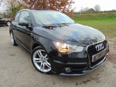 Audi A1 1.4 TFSI S Line 3dr Hatchback Petrol BlackAudi A1 1.4 TFSI S Line 3dr Hatchback Petrol Black at Williams Group Maidstone
