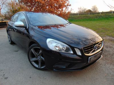 Volvo S60 2.0 D3 [163] R DESIGN 4dr Geartronic [Start Stop] (£3k of options! Heated Seats!++) Saloon Diesel BlackVolvo S60 2.0 D3 [163] R DESIGN 4dr Geartronic [Start Stop] (£3k of options! Heated Seats!++) Saloon Diesel Black at Williams Group Maidstone