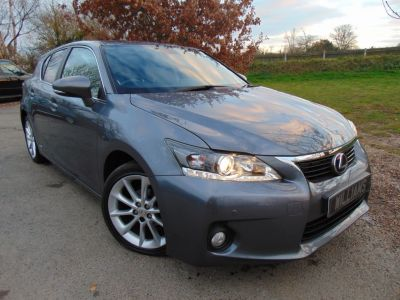 Lexus CT 200h 1.8 SE-L 5dr CVT Auto Hatchback Petrol / Electric Hybrid GreyLexus CT 200h 1.8 SE-L 5dr CVT Auto Hatchback Petrol / Electric Hybrid Grey at Williams Group Maidstone