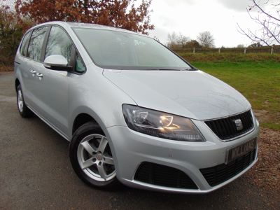 Seat Alhambra 2.0 TDI CR Ecomotive S 5dr MPV Diesel SilverSeat Alhambra 2.0 TDI CR Ecomotive S 5dr MPV Diesel Silver at Williams Group Maidstone