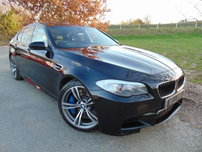 BMW M5 M5 4.4 4dr (20in Alloys! Rear Camera! ++) Saloon Petrol Black Sapphire MetallicBMW M5 M5 4.4 4dr (20in Alloys! Rear Camera! ++) Saloon Petrol Black Sapphire Metallic at Williams Group Maidstone