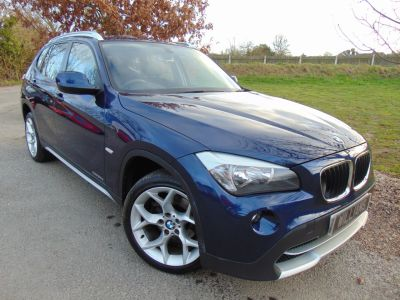 BMW X1 2.0 xDrive 20d SE 5dr Step Auto (FSH! 18in Alloys! Bluetooth! ++) Estate Diesel Deep Sea Blue MetallicBMW X1 2.0 xDrive 20d SE 5dr Step Auto (FSH! 18in Alloys! Bluetooth! ++) Estate Diesel Deep Sea Blue Metallic at Williams Group Maidstone