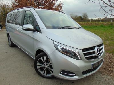 Mercedes-Benz V Class 2.1 V250 CDI BlueTEC Sport Extra Long MPV 5dr Diesel 7G-Tronic(1 Owner! Memory Seats! COMAND! ++) Estate Diesel SilverMercedes-Benz V Class 2.1 V250 CDI BlueTEC Sport Extra Long MPV 5dr Diesel 7G-Tronic(1 Owner! Memory Seats! COMAND! ++) Estate Diesel Silver at Williams Group Maidstone