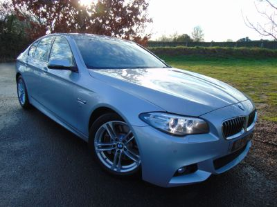 BMW 5 Series 2.0 525d M Sport 4dr Step Auto (Heated Seats! Full BMW SH! ++) Saloon Diesel Glacier Silver MetallicBMW 5 Series 2.0 525d M Sport 4dr Step Auto (Heated Seats! Full BMW SH! ++) Saloon Diesel Glacier Silver Metallic at Williams Group Maidstone