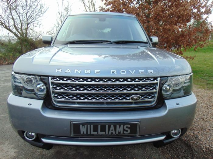 Land Rover Range Rover 4.4 TDV8 Westminster 4dr Auto (FSH! 4-Zone Climate! TV! ++) Estate Diesel Indus Grey Metallic