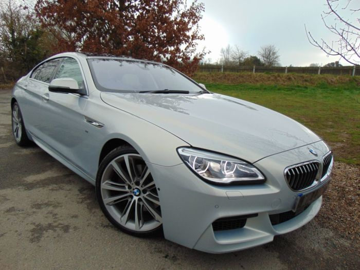 BMW 6 Series 3.0 640i M Sport 2dr Auto (£22,000 Factory Fitted Upgrades! +) Coupe Petrol Moonstone Individual Metallic