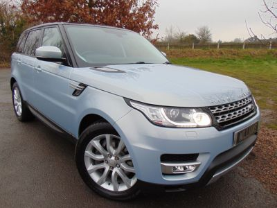 Land Rover Range Rover Sport 3.0 SDV6 HSE 5dr Auto (Pan Roof! Full Land Rover SH! ++) Estate Diesel Aleutian Silver MetallicLand Rover Range Rover Sport 3.0 SDV6 HSE 5dr Auto (Pan Roof! Full Land Rover SH! ++) Estate Diesel Aleutian Silver Metallic at Williams Group Maidstone