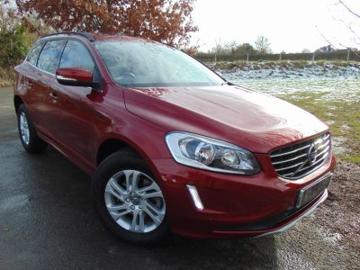 Volvo XC60 2.0 D4 [190] SE 5dr Geartronic (Pan Roof! Park Assist! +++) Estate Diesel Flamenco Red MetallicVolvo XC60 2.0 D4 [190] SE 5dr Geartronic (Pan Roof! Park Assist! +++) Estate Diesel Flamenco Red Metallic at Williams Group Maidstone