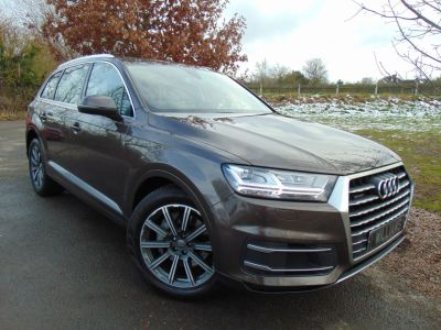 Audi Q7 3.0 TDI Quattro SE 5dr Tip Auto (LED Headlights! Rear Camera! ++) Estate Diesel Coffee Brown MetallicAudi Q7 3.0 TDI Quattro SE 5dr Tip Auto (LED Headlights! Rear Camera! ++) Estate Diesel Coffee Brown Metallic at Williams Group Maidstone
