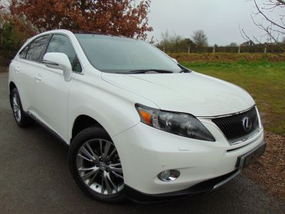 Lexus RX 450h 3.5 Advance 5dr CVT Auto [Pan roof] (FSH! Nav! Heated Seats! +++) Estate Petrol / Electric Hybrid WhiteLexus RX 450h 3.5 Advance 5dr CVT Auto [Pan roof] (FSH! Nav! Heated Seats! +++) Estate Petrol / Electric Hybrid White at Williams Group Maidstone