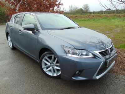 Lexus CT 200h 1.8 Advance 5dr CVT Auto (1 Owner! Full Lexus SH! ++) Hatchback Petrol / Electric Hybrid Mercury Grey MicaLexus CT 200h 1.8 Advance 5dr CVT Auto (1 Owner! Full Lexus SH! ++) Hatchback Petrol / Electric Hybrid Mercury Grey Mica at Williams Group Maidstone