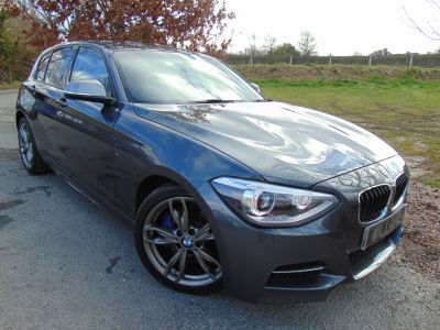 BMW 1 Series 3.0 M135i M Performance 5dr (Nav Pack! Heated Seats! FSH! ++) Hatchback Petrol Mineral Grey MetallicBMW 1 Series 3.0 M135i M Performance 5dr (Nav Pack! Heated Seats! FSH! ++) Hatchback Petrol Mineral Grey Metallic at Williams Group Maidstone