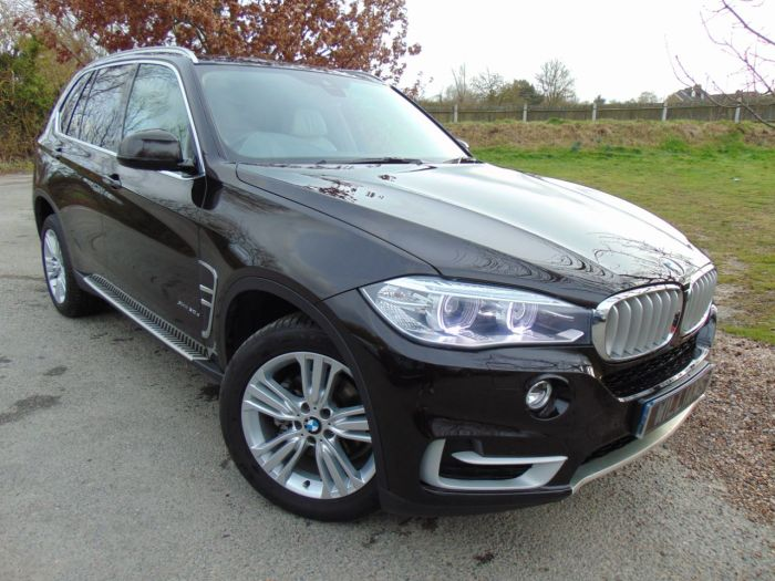 BMW X5 3.0 xDrive30d SE 5dr Auto (Interior and Exterior Design Packs! Over £11,000 of Factory Options!) Estate Diesel Brown