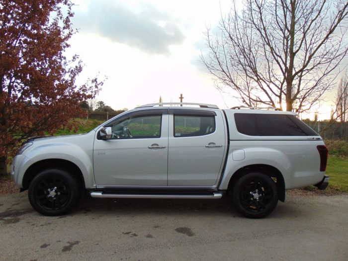 Isuzu D-Max 2.5TD Utah Double Cab 4x4 Auto [Vision Pack] (Low Miles! FSH! Rear Camera! ++) Pick Up Diesel Silver