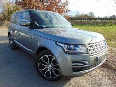 Land Rover Range Rover 4.4 SDV8 Vogue SE 4dr Auto (Pan Roof! 4-Zone-Climate! +++) Estate Diesel Orkney GreyLand Rover Range Rover 4.4 SDV8 Vogue SE 4dr Auto (Pan Roof! 4-Zone-Climate! +++) Estate Diesel Orkney Grey at Williams Group Maidstone