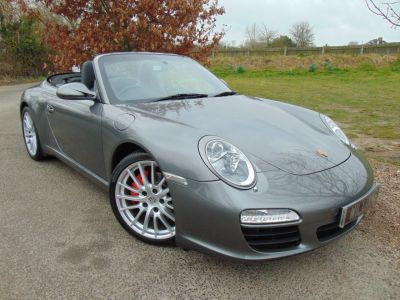 Porsche 911 3.8 S 2dr (PCM! Bose! Heated Seats! +++) Convertible Petrol GreyPorsche 911 3.8 S 2dr (PCM! Bose! Heated Seats! +++) Convertible Petrol Grey at Williams Group Maidstone
