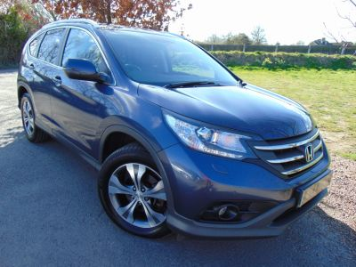 Honda CR-V 2.2 i-DTEC EX 5dr (Pan Roof! Rear Camera! +++) Estate Diesel Twilight BlueHonda CR-V 2.2 i-DTEC EX 5dr (Pan Roof! Rear Camera! +++) Estate Diesel Twilight Blue at Williams Group Maidstone