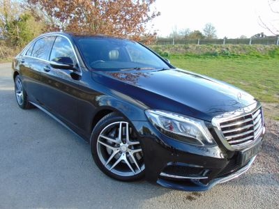 Mercedes-Benz S Class 3.0 S350L BlueTEC AMG Line 4dr Auto (19in Alloys! Pan Roof! ++) Saloon Diesel Obsidian Black MetallicMercedes-Benz S Class 3.0 S350L BlueTEC AMG Line 4dr Auto (19in Alloys! Pan Roof! ++) Saloon Diesel Obsidian Black Metallic at Williams Group Maidstone
