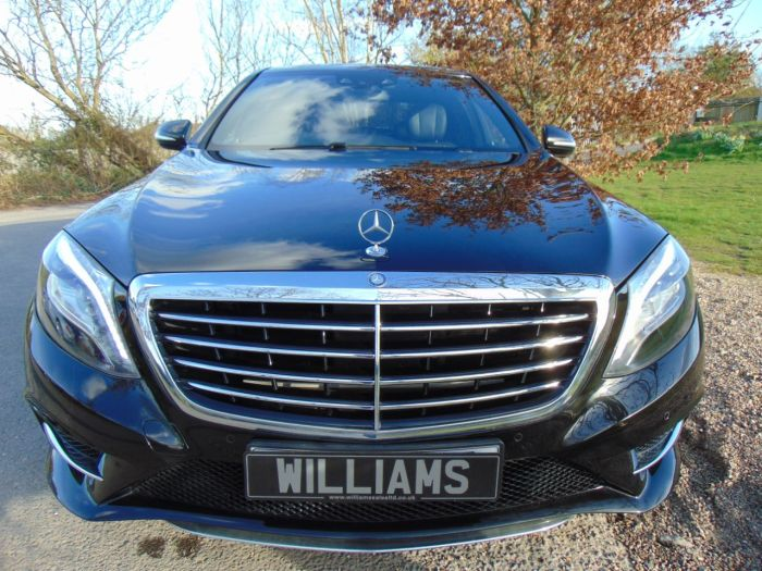Mercedes-Benz S Class 3.0 S350L BlueTEC AMG Line 4dr Auto (19in Alloys! Pan Roof! ++) Saloon Diesel Obsidian Black Metallic