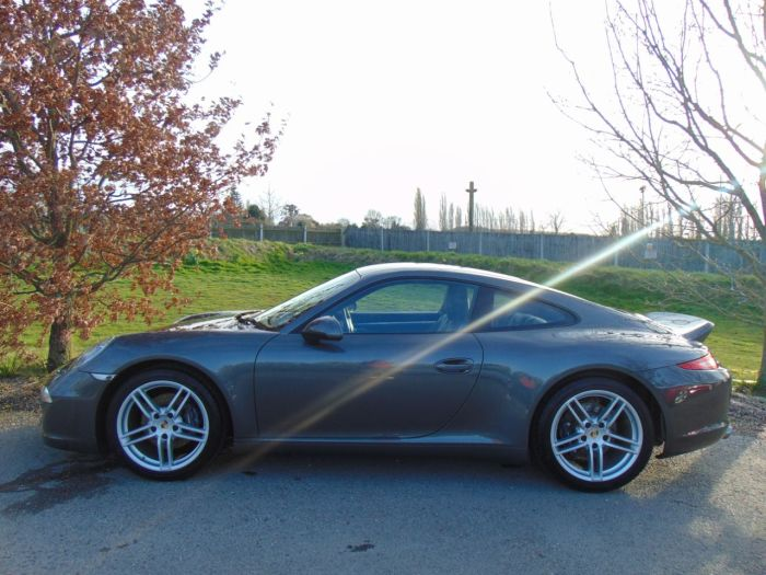 Porsche 911 3.4 2dr PDK (Sport Chrono Pack! PASM! +++) Coupe Petrol Achate Grey Metallic