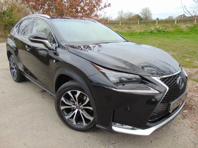 Lexus Nx 300h 2.5 F-Sport 5dr CVT (18in Alloys! Adaptive Cruise! +) Estate Petrol / Electric Hybrid Obsidian Black MetallicLexus Nx 300h 2.5 F-Sport 5dr CVT (18in Alloys! Adaptive Cruise! +) Estate Petrol / Electric Hybrid Obsidian Black Metallic at Williams Group Maidstone