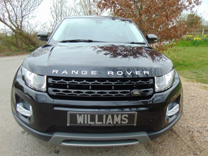 Land Rover Range Rover Evoque 2.2 SD4 Prestige 5dr Auto [Lux Pack] (Meridian Sound! Pan Roof! +++) Estate Diesel Sumatra Black
