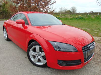 Audi TT 2.0T FSI 2dr (Multi_function Steering Wheel! +) Coupe Petrol Brilliant Red GlossAudi TT 2.0T FSI 2dr (Multi_function Steering Wheel! +) Coupe Petrol Brilliant Red Gloss at Williams Group Maidstone