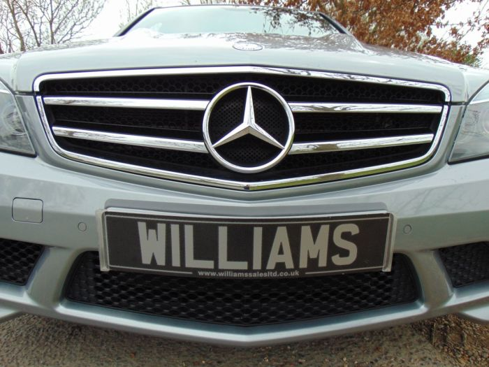 Mercedes-Benz C Class 6.2 C63 4dr Auto (AMG Limited SLip Diff! FMBSH! ++) Saloon Petrol Palladium Silver Special Metallic