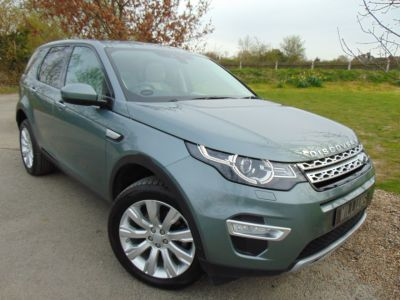 Land Rover Discovery Sport 2.2 SD4 HSE Luxury 5dr Auto (Full L/Rover SH! Cooled Seats! ++) Estate Diesel Scotia Grey MetallicLand Rover Discovery Sport 2.2 SD4 HSE Luxury 5dr Auto (Full L/Rover SH! Cooled Seats! ++) Estate Diesel Scotia Grey Metallic at Williams Group Maidstone