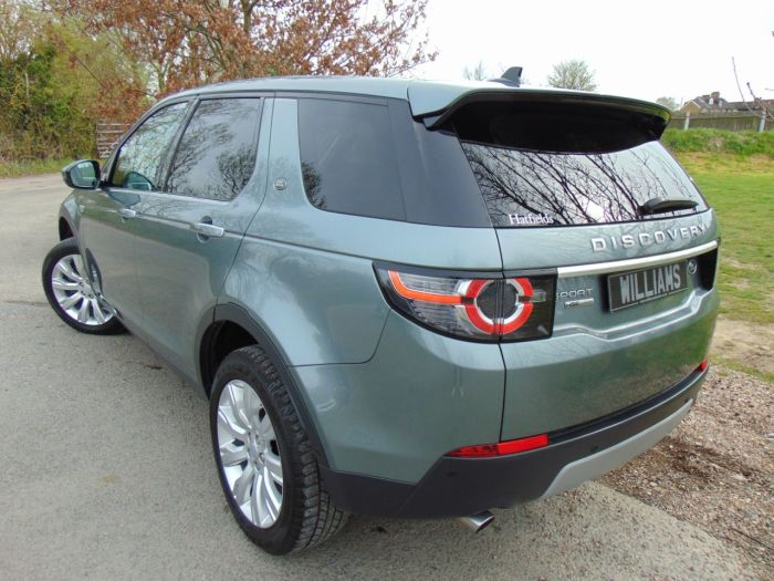 Land Rover Discovery Sport 2.2 SD4 HSE Luxury 5dr Auto (Full L/Rover SH! Cooled Seats! ++) Estate Diesel Scotia Grey Metallic