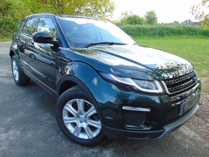 Land Rover Range Rover Evoque 2.0 TD4 SE Tech 5dr (Pan Roof! Full Land Rover SH! +) Estate Diesel Aintree Green Metallic