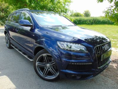 Audi Q7 3.0 TDI S Line Plus Tiptronic Quattro 5dr (Comfort Pack! BOSE! FASH! ++) MPV Diesel Moonlight Blue MetallicAudi Q7 3.0 TDI S Line Plus Tiptronic Quattro 5dr (Comfort Pack! BOSE! FASH! ++) MPV Diesel Moonlight Blue Metallic at Williams Group Maidstone