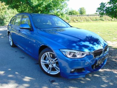 BMW 3 Series 3.0 335d xDrive M Sport 5dr Step Auto (Nav! DAB! Cruise! +++) Estate Diesel Estoril Blue MetallicBMW 3 Series 3.0 335d xDrive M Sport 5dr Step Auto (Nav! DAB! Cruise! +++) Estate Diesel Estoril Blue Metallic at Williams Group Maidstone