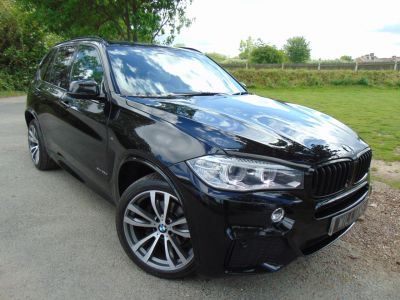 BMW X5 2.0 25d M Sport xDrive (s/s) 5dr (7 Seats! 20in Alloys! +) SUV Diesel Sapphire Black MetallicBMW X5 2.0 25d M Sport xDrive (s/s) 5dr (7 Seats! 20in Alloys! +) SUV Diesel Sapphire Black Metallic at Williams Group Maidstone