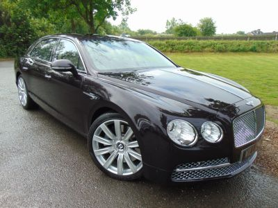 Bentley Flying Spur 6.0 W12 4dr Auto (Full Bentley SH! Sunroof! +++) Saloon Petrol Damson Mauve/purple MetallicBentley Flying Spur 6.0 W12 4dr Auto (Full Bentley SH! Sunroof! +++) Saloon Petrol Damson Mauve/purple Metallic at Williams Group Maidstone