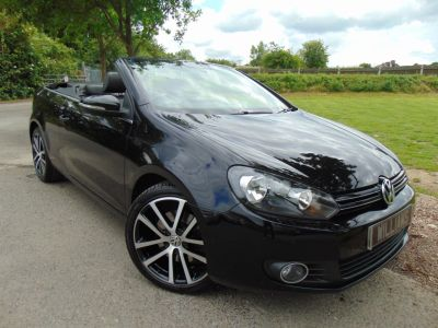 Volkswagen Golf 1.4 TSI GT 2dr (Winter Pack! Touch Screen Nav! ++) Convertible Petrol Deep Black PearlVolkswagen Golf 1.4 TSI GT 2dr (Winter Pack! Touch Screen Nav! ++) Convertible Petrol Deep Black Pearl at Williams Group Maidstone