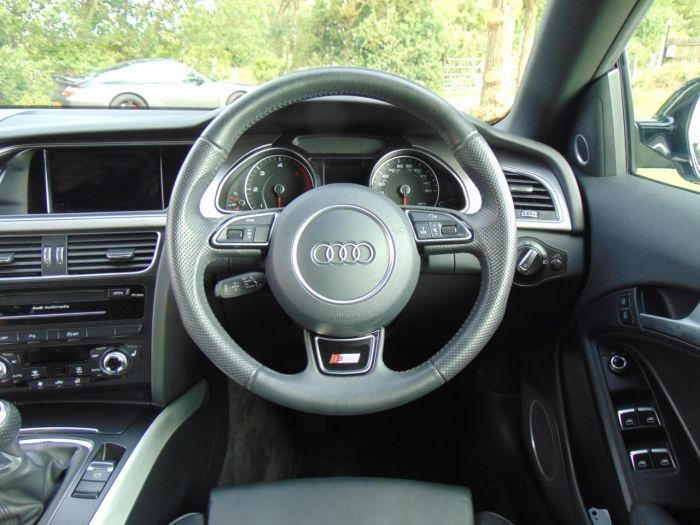 Audi A5 2.0 TDI 150 S Line Special Edition 2dr (Tech Pack! Heated Seats! +++) Convertible Diesel Brilliant Black