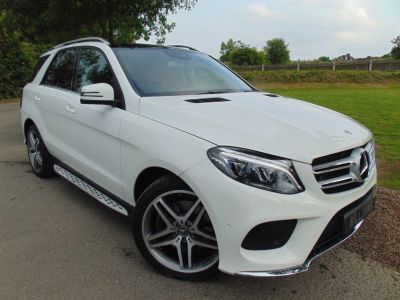 Mercedes-Benz GLE 3.0 GLE 500e 4Matic AMG Line Premium 5dr 7G-Tronic (Surround Cameras! Pan Roof! ++) Estate Petrol / Electric Hybrid Polar WhiteMercedes-Benz GLE 3.0 GLE 500e 4Matic AMG Line Premium 5dr 7G-Tronic (Surround Cameras! Pan Roof! ++) Estate Petrol / Electric Hybrid Polar White at Williams Group Maidstone